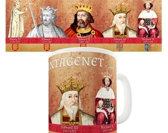 House Of Plantagenet Ceramic Tea Mug