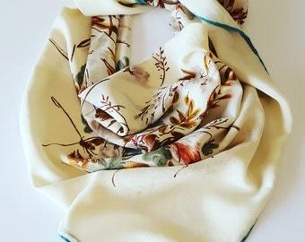 Vintage scarf by Jérome Leplat / Paris