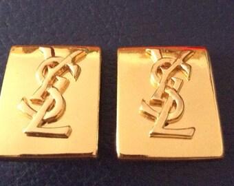 Original Yves Saint Laurent YSL earrings earrings