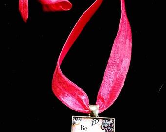 Oscar Wilde Quote Pendant Necklace