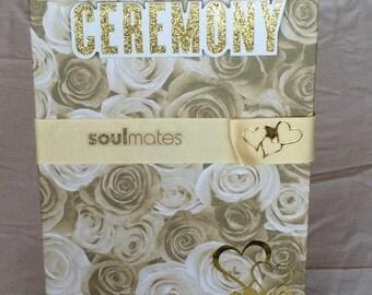 Wedding Notebook /Journal