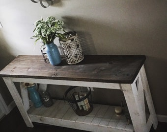 Sofa table/ entry table/ entertainment stand