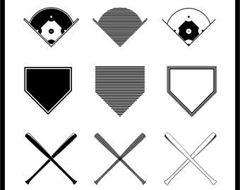 Baseball vector graphics