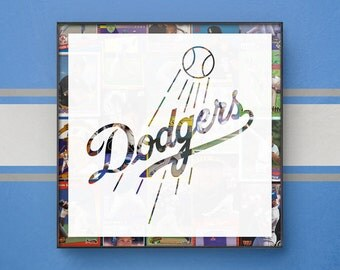 Dodgers art | Etsy