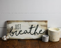 Wood decor, Shabby chic, Inspirational quotes, wood decor, wood sign, rustic decor, distressed decor