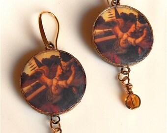 Davinci Angel earrings