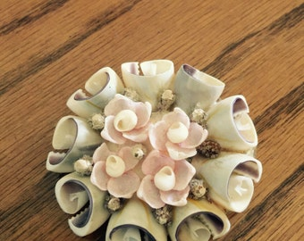 Antique/vintage shell pin
