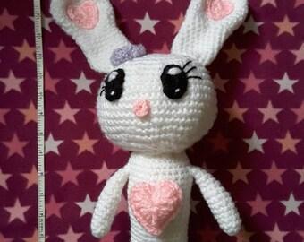 Crochet Love Bunny Rabbit