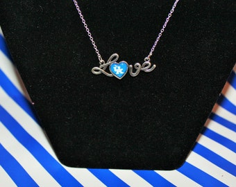 Kentucky LOVE Necklace