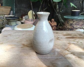 Japanese Sake Pottery Bottle