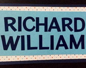 "Personalized ""Richard"" Hospital Nametag"