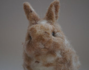 Needle felted little rabbit