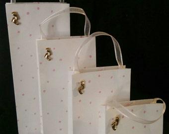 Lg Baby Girl Gift Bag set of 4