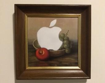 Steve Jobs' fruit basket