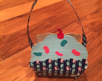 Cupcake Duct Tape Purse