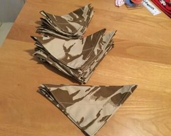 Desert camouflage Dog bandana