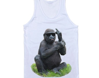 Monkey Middle Finger Tank