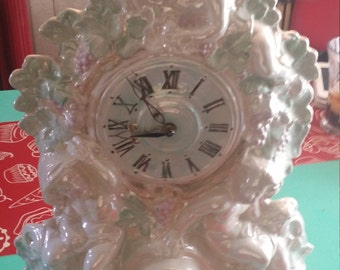 Mother of Pearl electric clock
