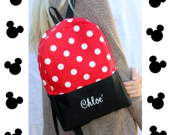Disney Inspired Day Bag- Optional Personalization