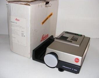 Leica Pradovit P150 Slide Projector Very Good Condition Original Box