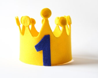 Customizable birthday Crown