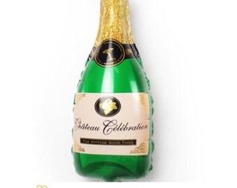 "36"" Champagne Bottle Balloons"