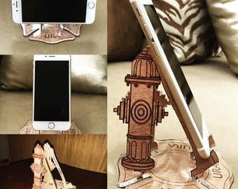 Fire Hydrant Mobile Phone Stand