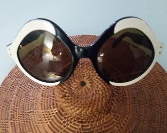 Original Novelty Elton John Style 1960s Glasses