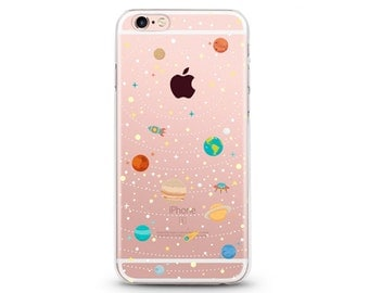 Some Space - iphone 7 case, clear iphone 7 case, clear iphone 7 case ,slim iphone 7 cases, Hard Iphone 7 case