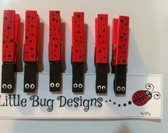 Ladybug Refrigerator Magnets