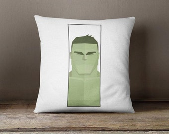 Hulk Throw Pillow, avengers cushion, marvel pillow decorative pillow case avengers throw pillow for teen hulk gift for kids and teens P375