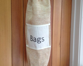Rustic Eco Friendly Plastic Bag Holders