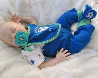 Reborn baby boy, Sofie kit by Denise Pratt, OOAK baby doll, Hand painted