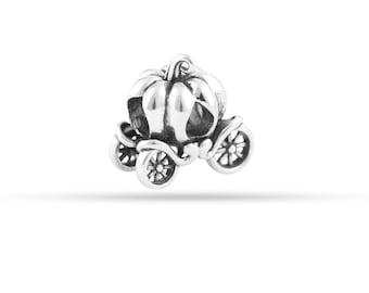 Cinderella's Pumpkin Carriage Bead Charm