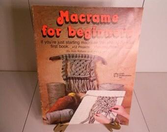Macrame for Beginners Handbook