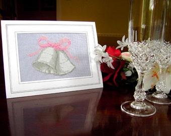 Wedding Bells Card Cross Stitch Kit