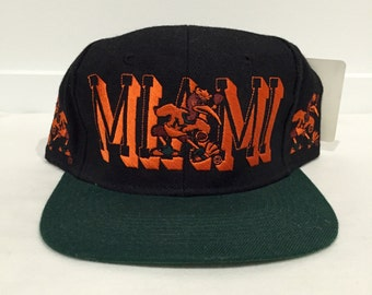 Vintage Miami Hurricanes Hat