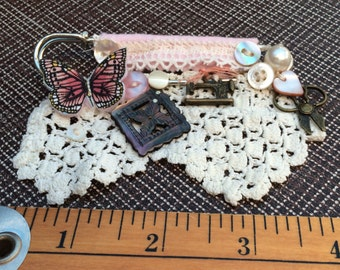 Brooch with pin back
