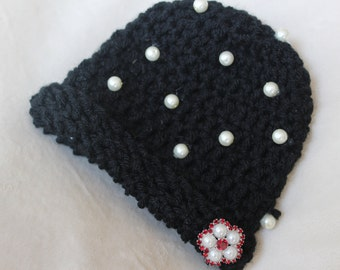Pearl Baby Hat