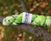 SALE!!  Radioactive - Hand Dyed 100% Superwash Merino Wool Yarn - Single Ply Lace Weight