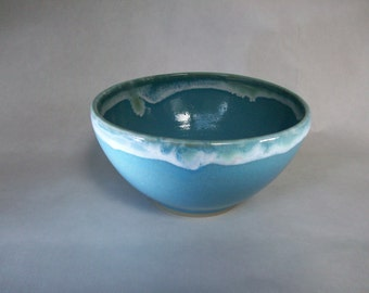 bowl turquoise blue and mint