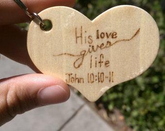 His love gives life-John 10:10-11