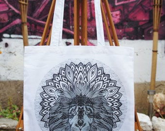 Tote Bag-Game Of Thrones Mandala - Lannister