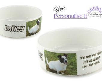 Personalised Dog Bowl - Small