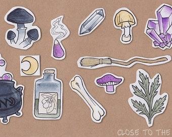 Witchy Sticker Set