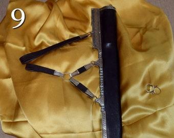 Real silk tunics, jackets, trim, etc.