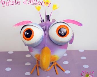 Decorative bird for garden or home decoration