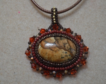 Sand and Stone Pendant