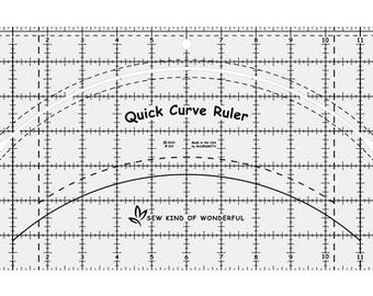 Sew kind of Wonderful Quick Curve Ruler,