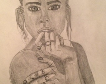 Girl with Rings